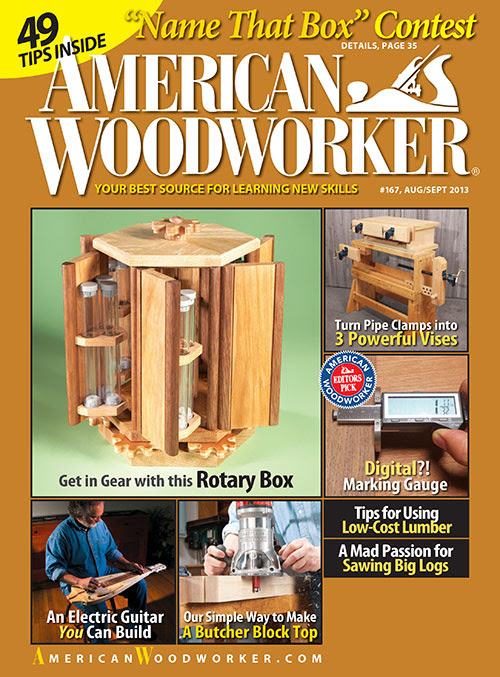 ... Arts & Crafts Magazines » American Woodworker Magazine Subscription