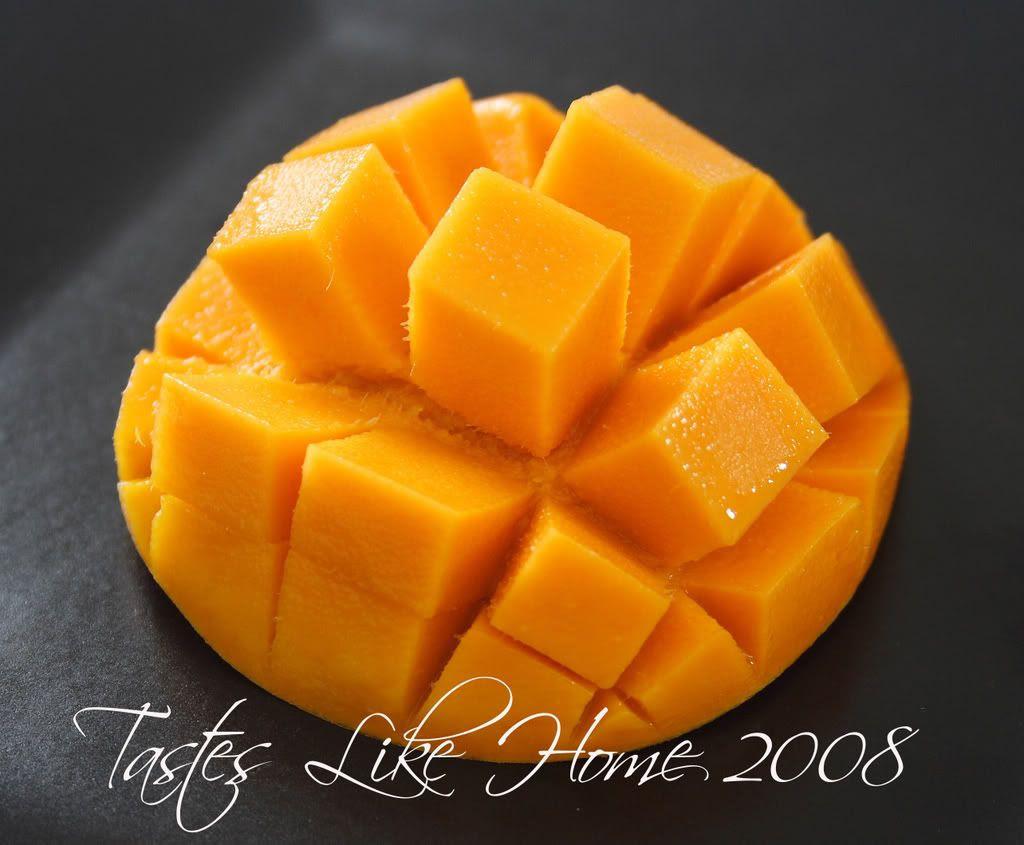Diced mango