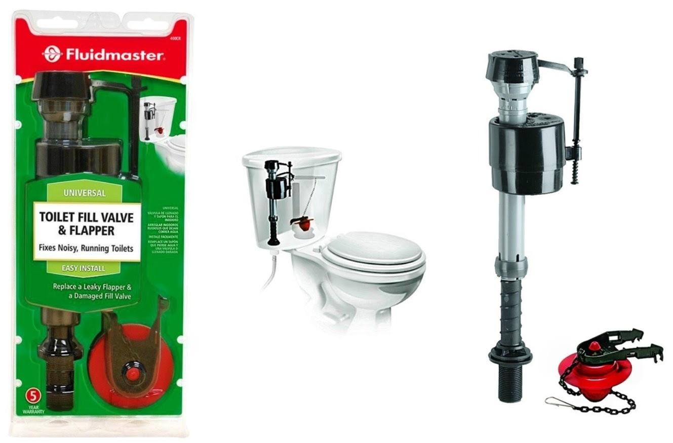 Buy the Fluidmaster 400CRP14 Toilet Fill Valve & Flapper ...