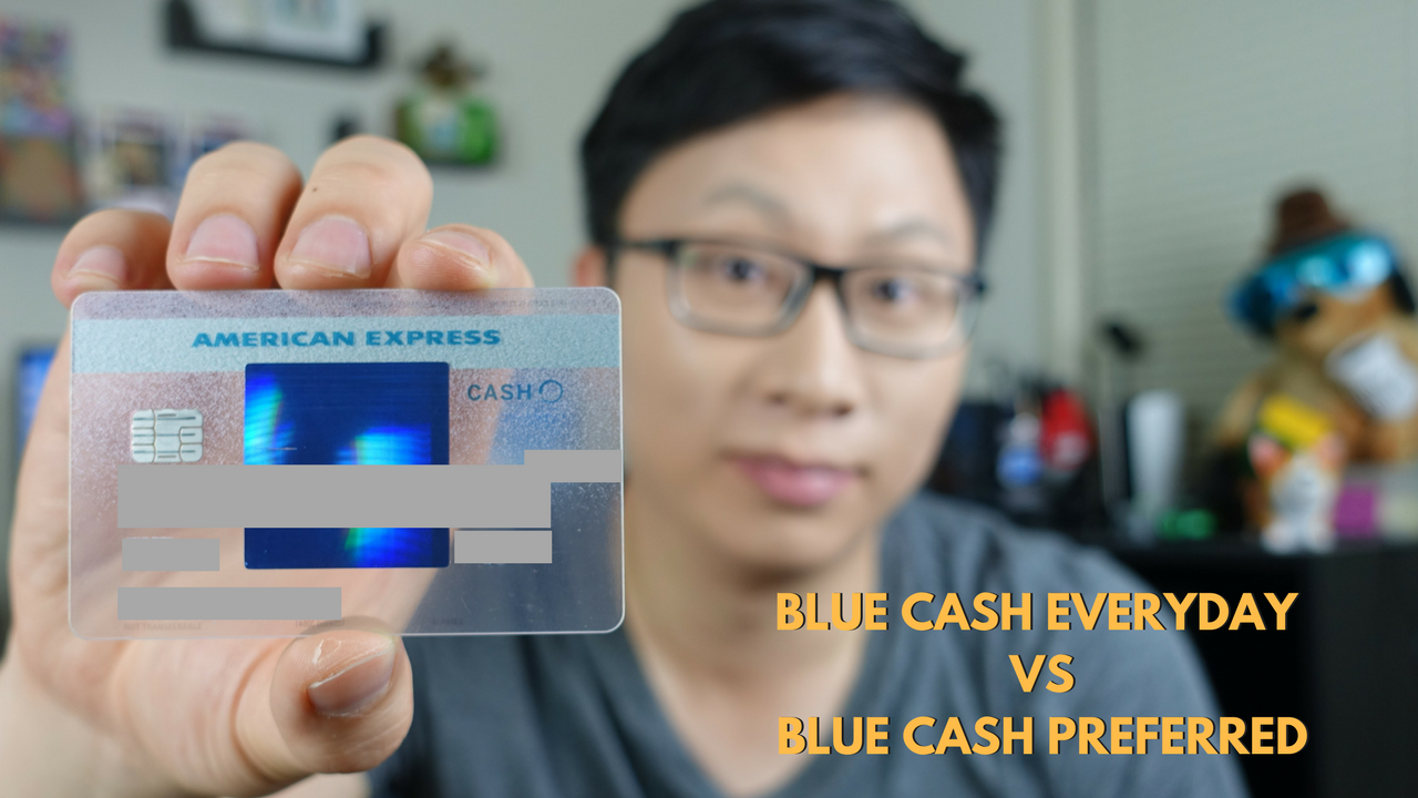 American Express Blue Cash Everyday vs Blue Cash Preferred — AskSebby