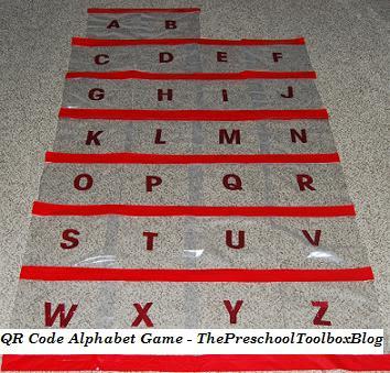 Printable A to Z Alphabet QR Code Game for Preschool & Kindergarten!