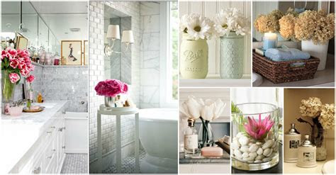 relaxing flowers bathroom decor ideas   refresh