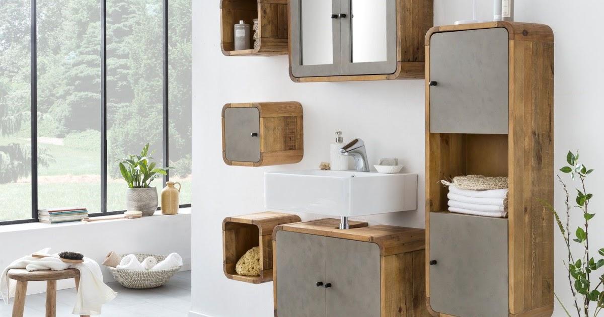 Badezimmerschrank Betonoptik Best Home Ideas 2020 Carterber