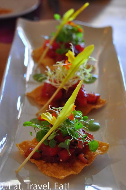 Tuna Tartare Platter