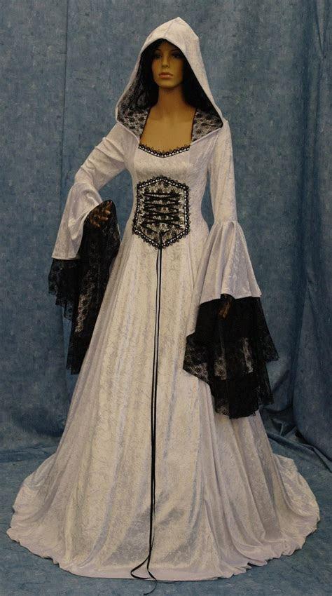 Renaissance Wedding Dress, Medieval Dress, Elven Dress