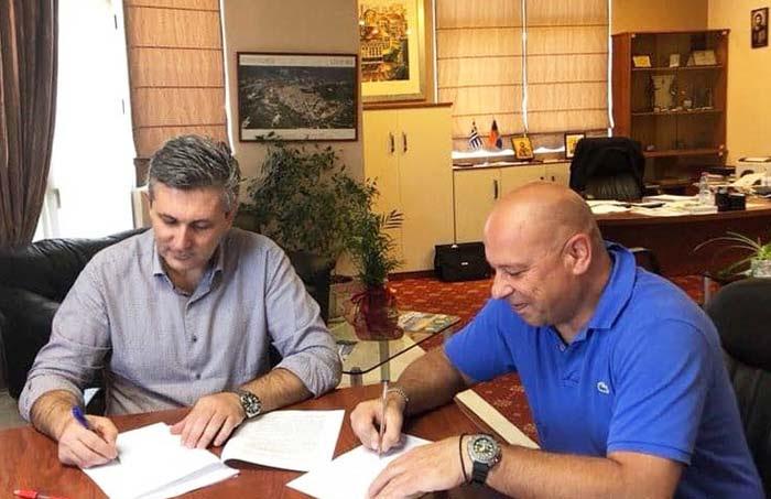 Άρτα: Υπεγράφη η σύμβαση για διευθέτηση ρέματος Αμμοτόπου