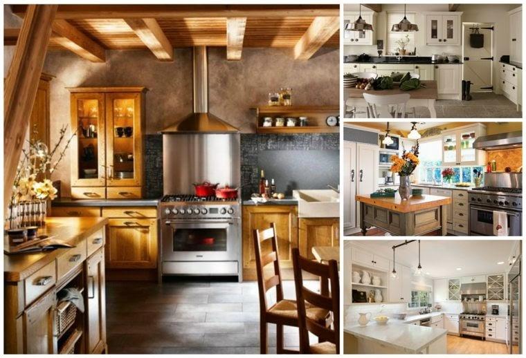 Cuisine Style Campagne Contemporain Ma Maison Est Mon Palais