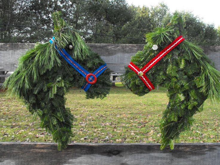 Празнична декорация за годината на коня