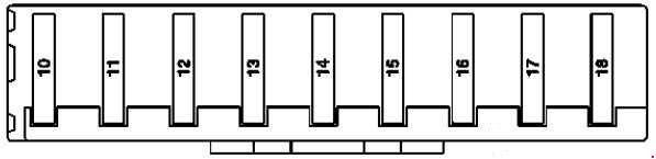 Mercedes Benz Ml Class W164 2005 2011 Fuse Box Diagram Auto Genius