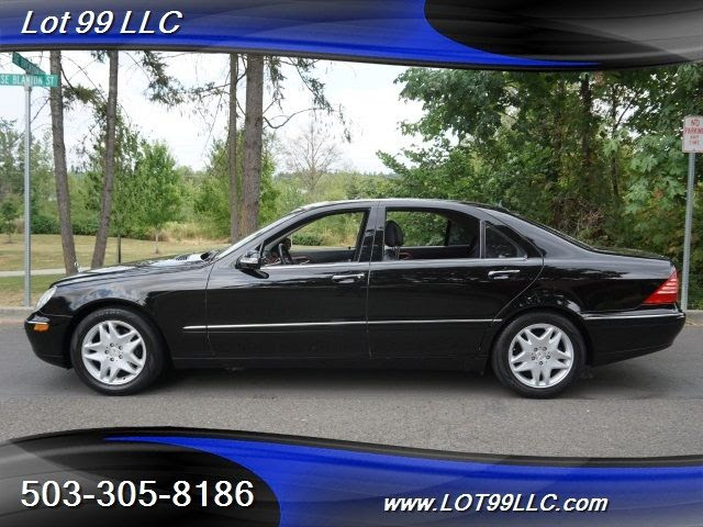 2003 Mercedes Benz S430 Low Miles Black On Black S500 Automatic 4 Door Sedan Wdbng70j23a331176