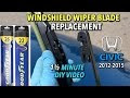 How To Install Michelin Wiper Blades From Costco
