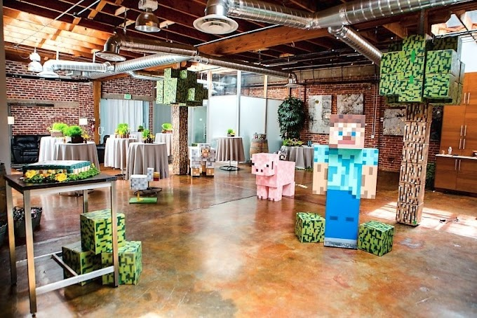 Trends For Minecraft Dining Room Designs Photos