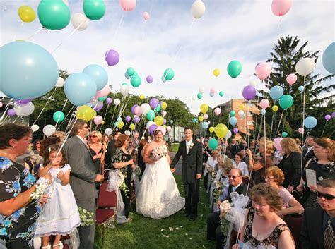 Balloons in Wedding Ceremonies