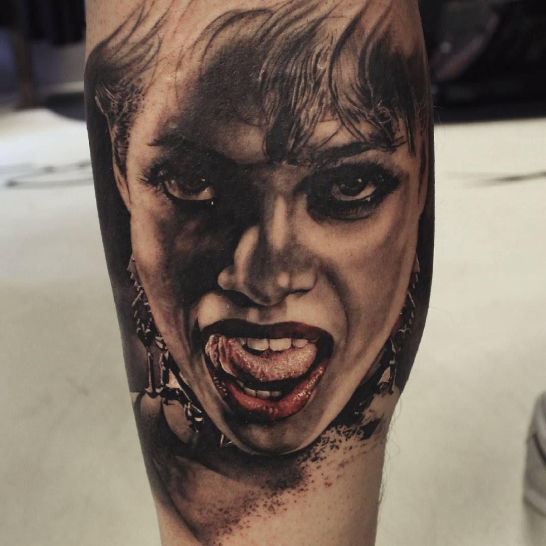 Portrait Girl Tattoo Best Tattoo Ideas Gallery