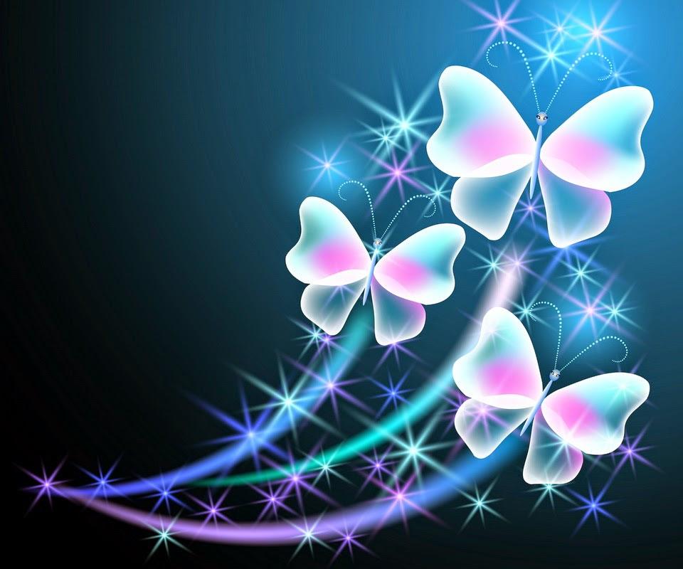 Neon Butterfly Wallpaper - WallpaperSafari