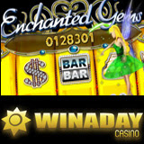 New Enchanted Gems Online Slot Machine at WinADayCasino Features Free Spins and Bonus Games
