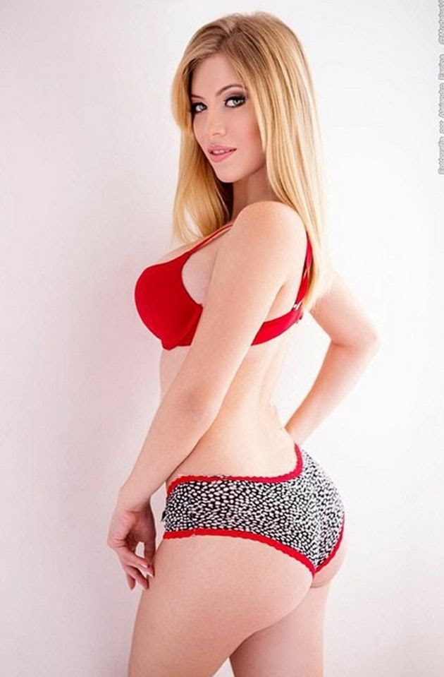 Hot Blonde College Girl