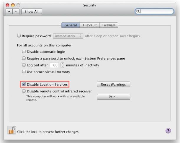 نظام Mac OS X :