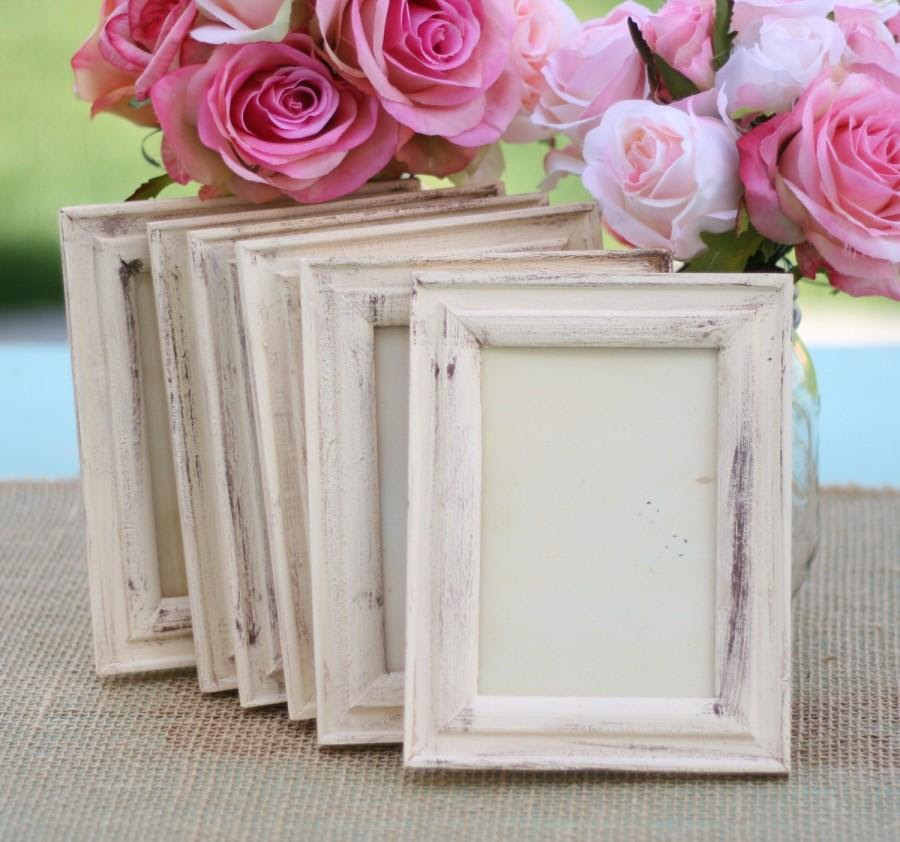 Wedding Frame Shabby Chic Rustic Distressed Paint Item P10332