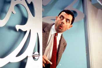 Mr. Bean or me?