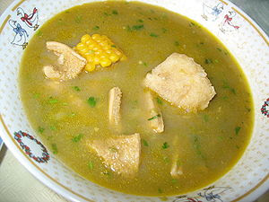 English: Barranquilla - Sancocho de mondongo E...