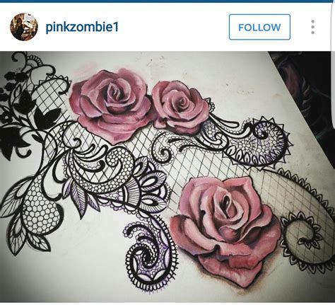 rose shape lace lace rose tattoos lace tattoo lace