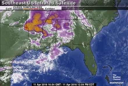 South East U.S. Satellite