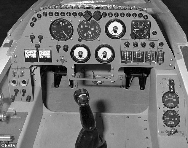 Cockpit: Airborne for just four years between 1979 and 1982, it was only flown 79 times