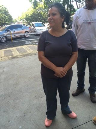 Marli, mãe do Ken Humano  (Foto: Lais Gomes / Ego )