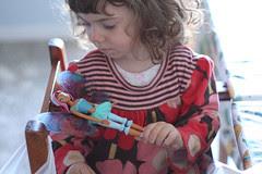 bianka with the winx doll