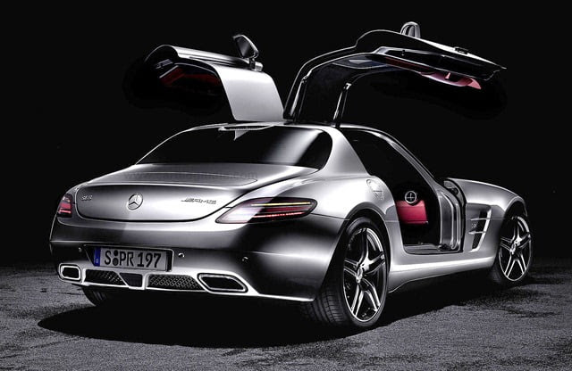 Mercedes SLS AMG Features Specifications Price In India