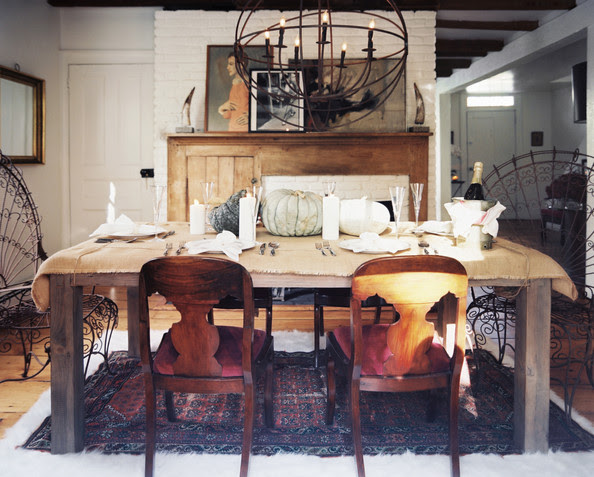 Rustic Holiday Decor Photos, Design, Ideas, Remodel, and Decor - Lonny