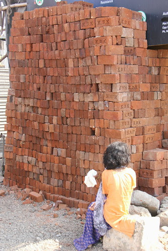 The Woman In India Is Just Another Brick In The Wall by firoze shakir photographerno1