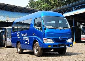 Hino Dutro 110SD Microbus (WU302) by local coa...