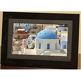 Giinii Sh 701b 7 Inch Analog Picture Frame Black Fine At Amazon