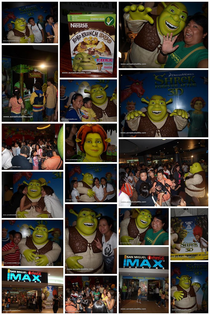 shrek collage