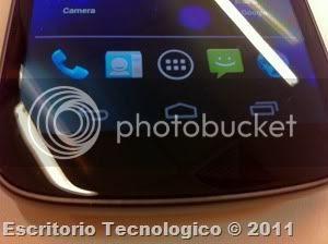 Samsung Galaxy Nexus GT-I9250 (3) - Botones de la pantalla