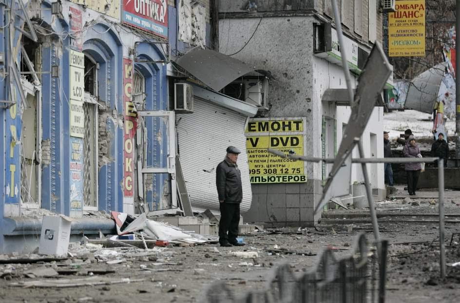 13 muertos en un ataque con mortero en Donetsk