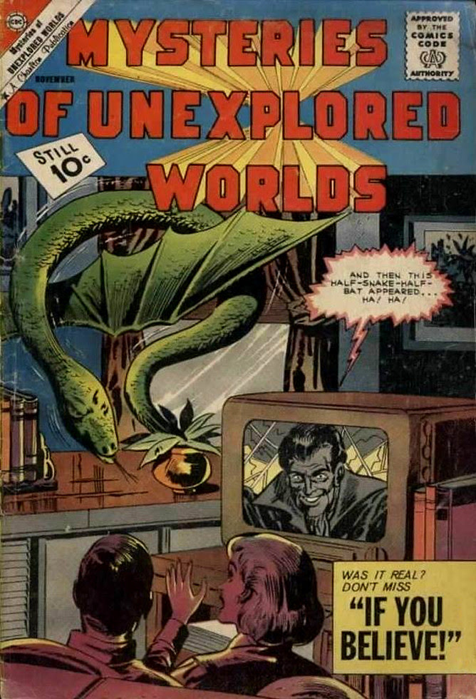 Mysteries of Unexplored Worlds #27
