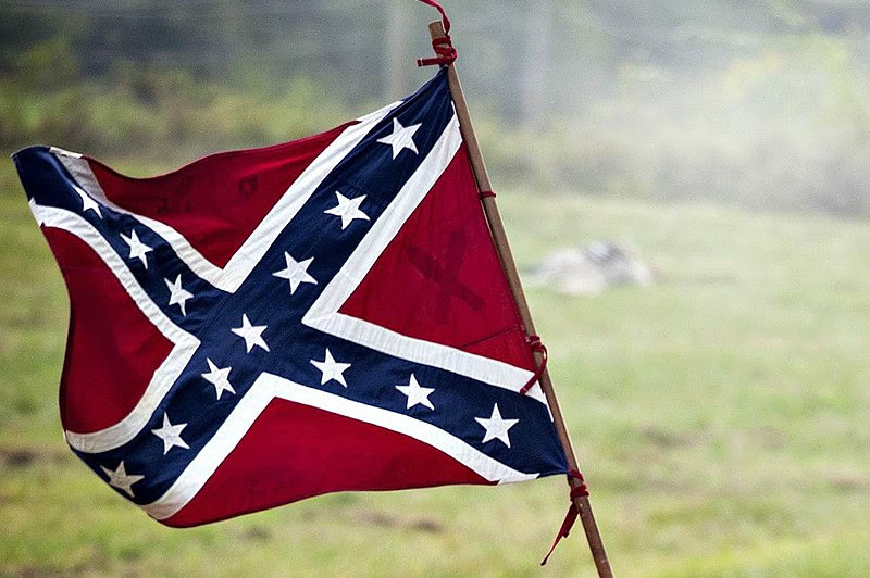Image result for Modern display of the Confederate flag
