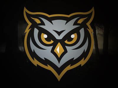 owls mascot branding  logos logo keren desain