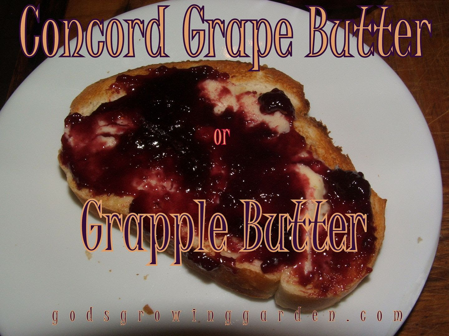 Grape Butter by Angie OuelletteTower for godsgrowinggarden.com photo 011_zpsa5f82626.jpg