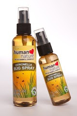 Citronella Bug Spray DEET-Free