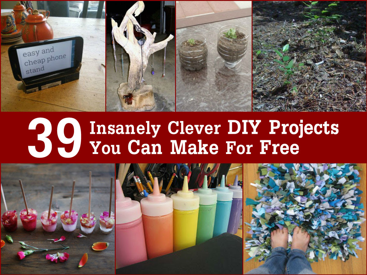 diy projects you can for free