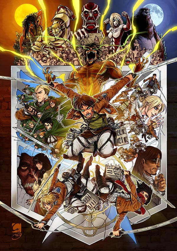 Wallpaper Anime Attack On Titan Live Action Movie Update