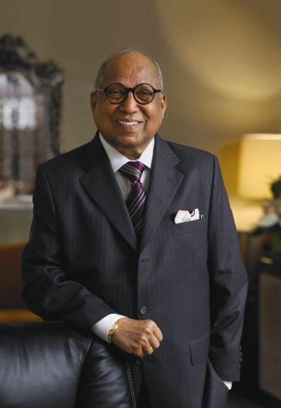 Leela Hotels chairman Captain Nair.