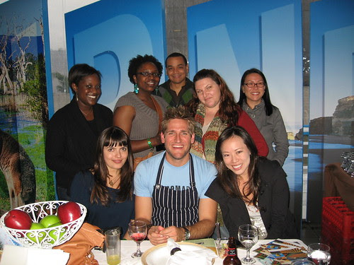 LA Food Bloggers with Curtis Stone at Good Food Live