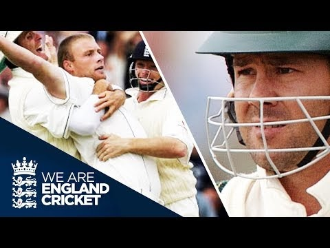 Andrew Flintoff's Magic Over To Ponting | 2nd Ashes Test Edgbaston 2005