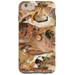 Personalize: Abstract Nature Photo Autumn Camo Tough iPhone 6 Plus Case