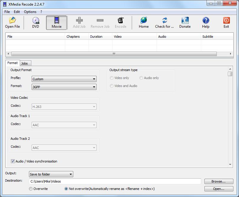 إصدار جديد من برنامج XMedia Recode 3.1.5.8 لتحويل جميع صيغ الصوت والفيديو والهواتف مجانى